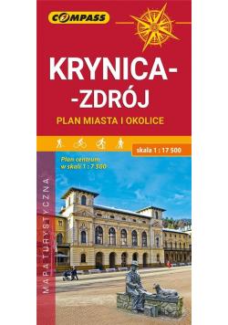Plan - Krynica-Zdrój i okolice 1:17 500 w.2019