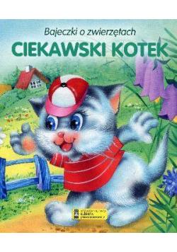 Bajeczki o zwierzętach - Ciekawski kotek