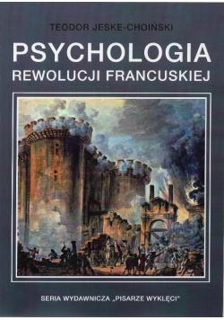 Psychologia rewolucji francuskiej