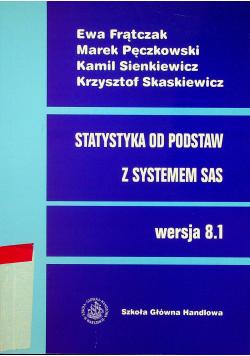 Statystyka od podstaw z systemem SAS Wersja 8 1