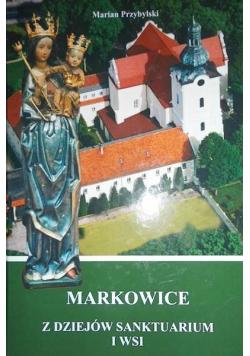 Markowice z dziejów sanktuarium i wsi