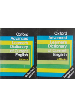 Oxford Advanced Dictionary of Current English 2 tomy