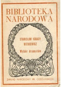 Stanisław Ignacy Witkiewicz wybór dramatów