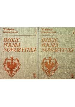 Dzieje Polski nowożytnej 2 tomy Konopczyński