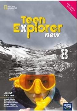J. Angielski SP 8 Teen Explorer New ćw. 2021 NE
