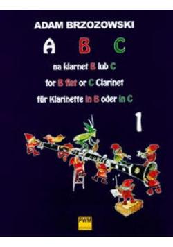 ABC na klarnet B lub C cz. 1 PWM