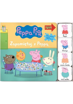 Świnka Peppa. Zagraj ze mną. Zapamietuj z Peppą