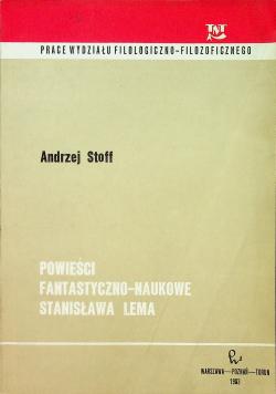 Powieści fantastyczno naukowe Stanisława Lema