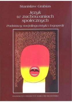 Język w zachowaniach społecznych w.4