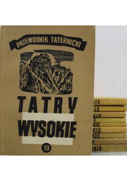 Tatry Wysokie Przewodnik taternicki 10 tomów