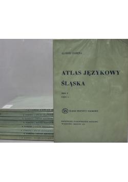 Atlas językowy Śląska 5 tomów
