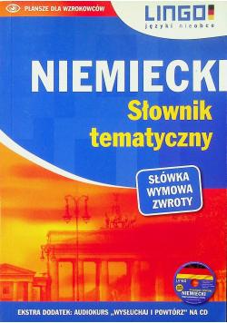 Niemiecki Słownik tematyczny  plus CD