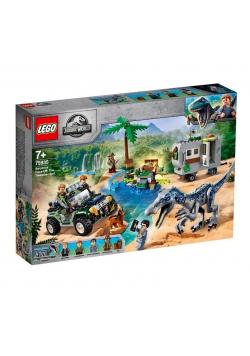Lego JURASSIC WORLD 75935 Starcie z Barionyksem