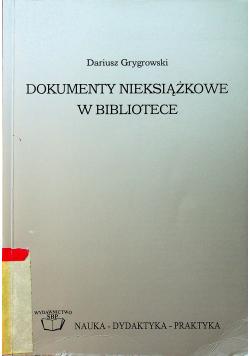 Dokumenty nieksiążkowe w bibliotece