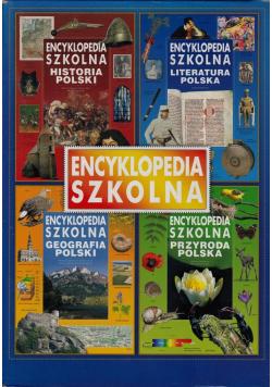 Encyklopedia szkolna 4 tomy
