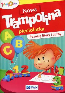 Nowa Trampolina pięciolatka Poznaję litery i liczby