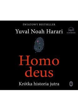 Homo deus Krótka historia jutra Audiobook Nowa
