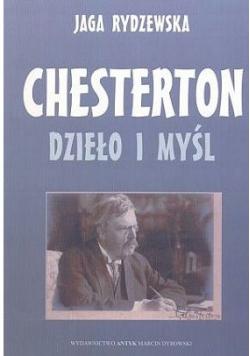 Chesterton dzieło i myśl
