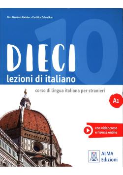 Dieci A1 Lezioni di italiano + DVD