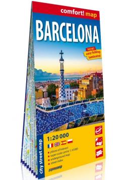 Barcelona (Barcelona) laminowany plan miasta 1:20 000