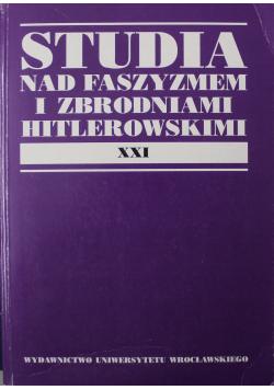 Studia nad Faszyzmem i Zbrodniami Hitlerowskimi XXI