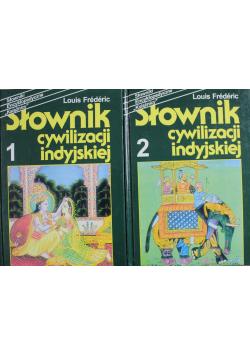 Słownik cywilizacji indyjskiej 2 tomy