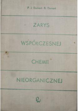Zarys współczesnej chemii nieorganicznej