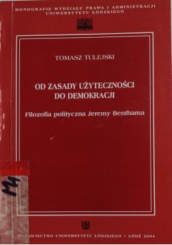Od zasady użyteczności do demokracji