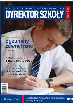 Dyrektor Szkoły 4/2021