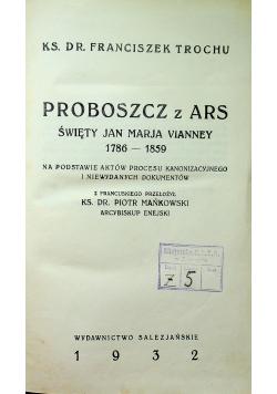 Proboszcz z Ars 1932 r