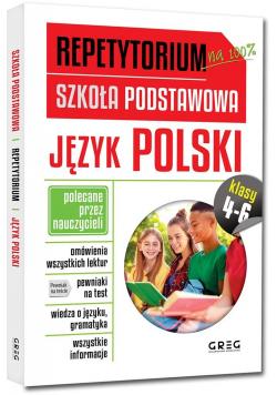 Repetytorium SP Język polski kl.4-6 GREG