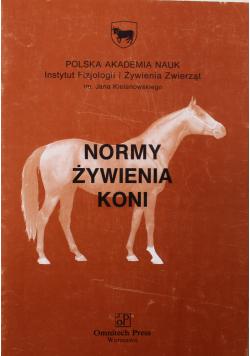 Normy żywienia koni