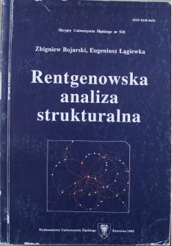 Rentgenowska analiza strukturalna