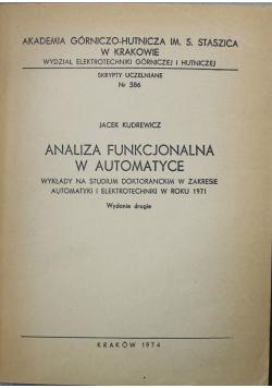 Analiza funkcjonalna w automatyce