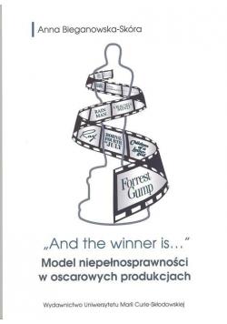 And the winner is... Model niepełnosprawności...