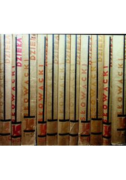 Słowacki Dzieła 22 tomy ok 1931 r