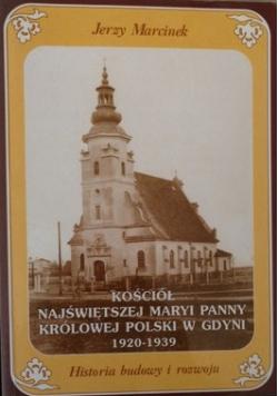 Kościół Najświętszej Maryi Panny Królowej Polski w Gdyni 1920 1939