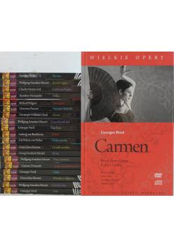 Wielkie Opery 20 płyt DVD plus CD