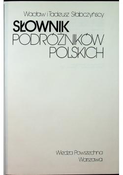 Słownik podróżników polskich