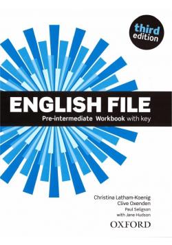 English File 3E Pre-Intermed. WB With Key OXFORD