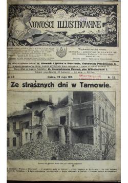 Nowości illustrowane 3 numery 1915 r.