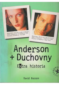 Anderson Duchovny Extra historia