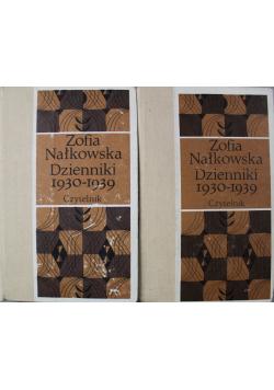 Nałkowska Dzienniki IV 1930 1939 2 Części