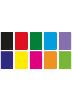 Zeszyt A5/96K linia Rainbow (5szt)