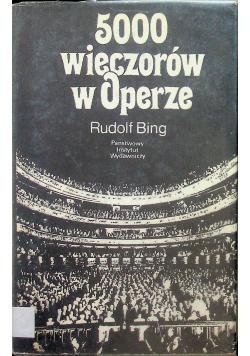 500 wieczorów w operze