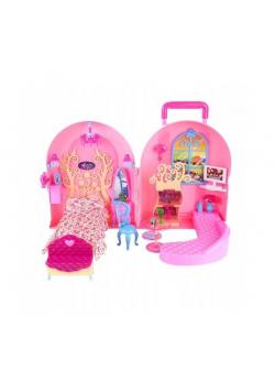 Domek walizkowy dla lalki 29 cm