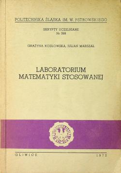 Laboratorium matematyki stosowanej