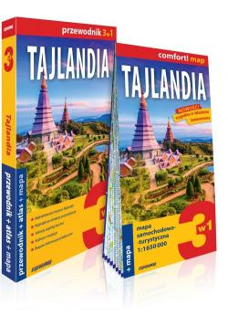 Tajlandia 3w1 Przewodnik + atlas + mapa