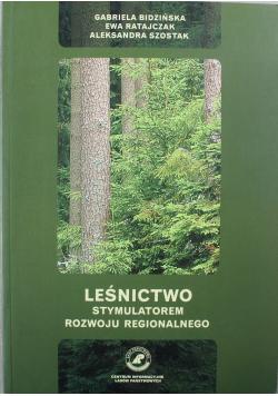 Leśnictwo stymulatorem rozwoju regionalnego