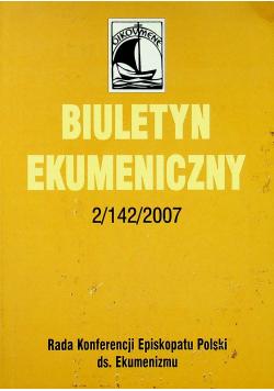 Biuletyn ekumeniczny Nr 2 / 142